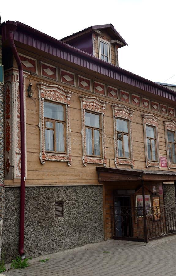 Kimry, regione di Tver', Russia, il 26 luglio 2018: Centro regionale di creatività applicata ed artistica immagine stock libera da diritti