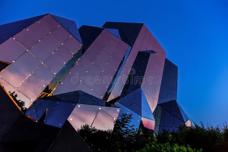 Kinémax, Futuroscope park -, Poitiers, Francja zdjęcie royalty free