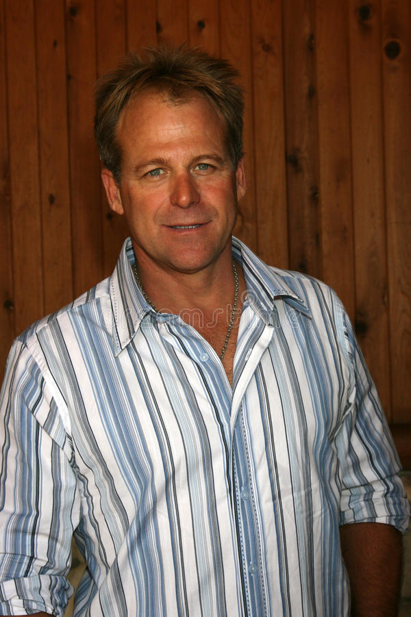 Kin Shriner. Arriving at the annual General Hospital Fan Club Luncheon at the Sportsman's Lodge in Studio City, CA on July 12, 2008 royalty free stock image