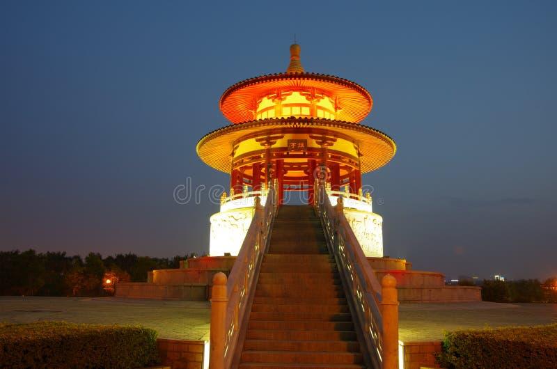 Kina arkitekturnatt arkivfoto