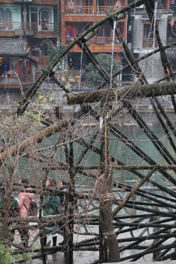 Kina Fenghuang gammal stad Fenix royaltyfri foto