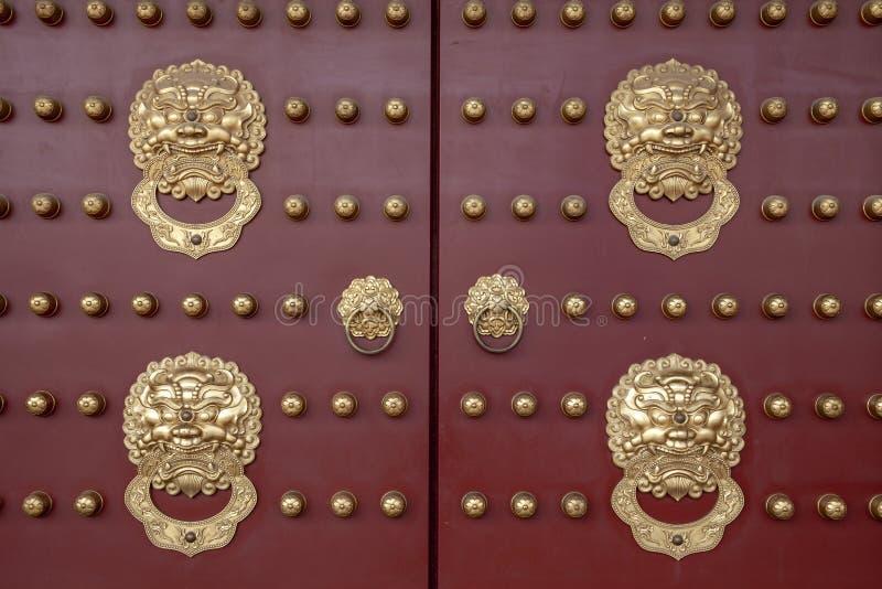 Kina luoyang zhou dynastikorridor inom den zhu qi porten royaltyfri fotografi