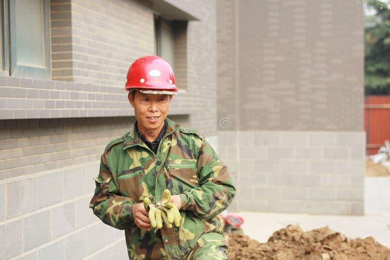 Kina migrerande arbetstagare arkivfoto