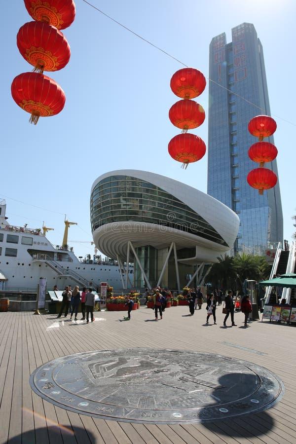 Kina Shenzhen Område Shecou kinesisk festivalfjäder royaltyfria bilder