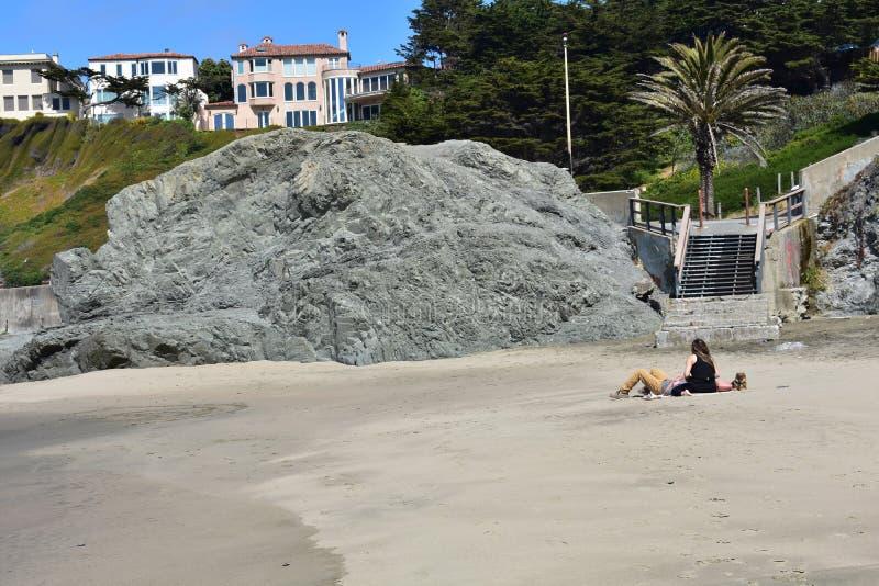 Kina strand en gömd ädelsten av den nationella rekreationsområdet för Golden Gate, 15 royaltyfri foto