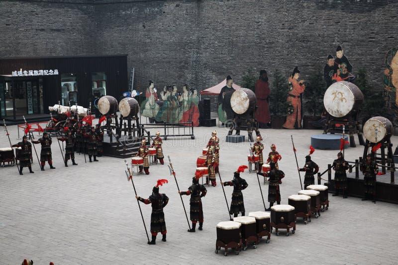 Kina Xian torn arkivfoton