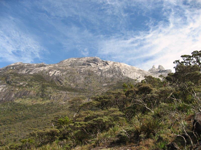 Kinabalu da montagem fotos de stock royalty free