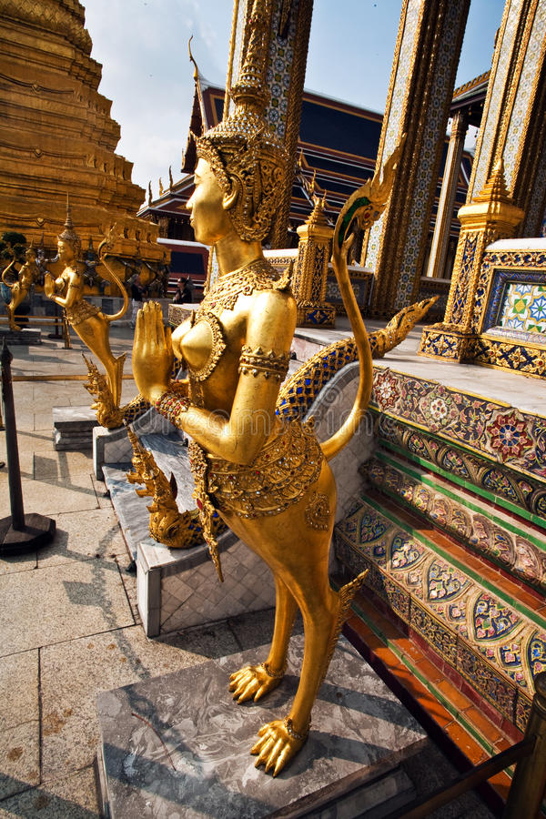 Download Kinaree, A Mythology Figure In The Grand Palace Stock Photo - Image: 13951374