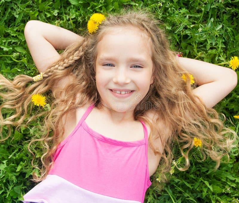 Kind bij de zomer royalty-vrije stock afbeeldingen