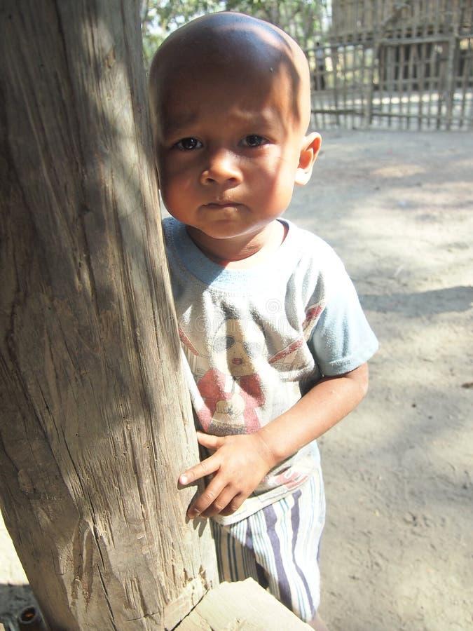 Kind Birma lizenzfreie stockfotografie