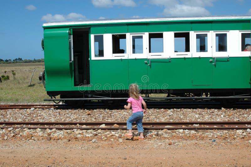 Kind in der Gefahr stockfoto