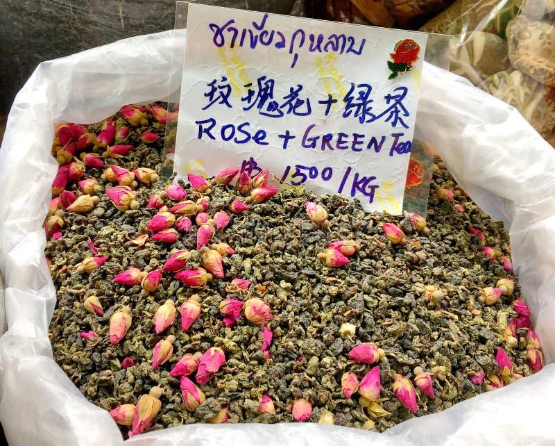 639b1ac1 A kind of dried tea in Yaowarach Street Bangkok, Thailand July 3. The photo