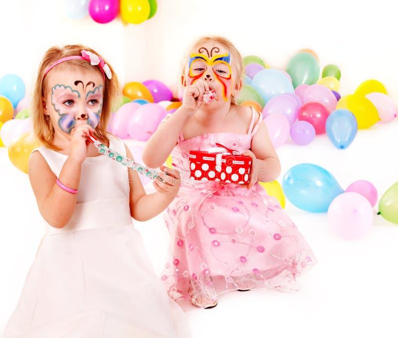 Kind-Geburtstagsfeier. lizenzfreies stockbild