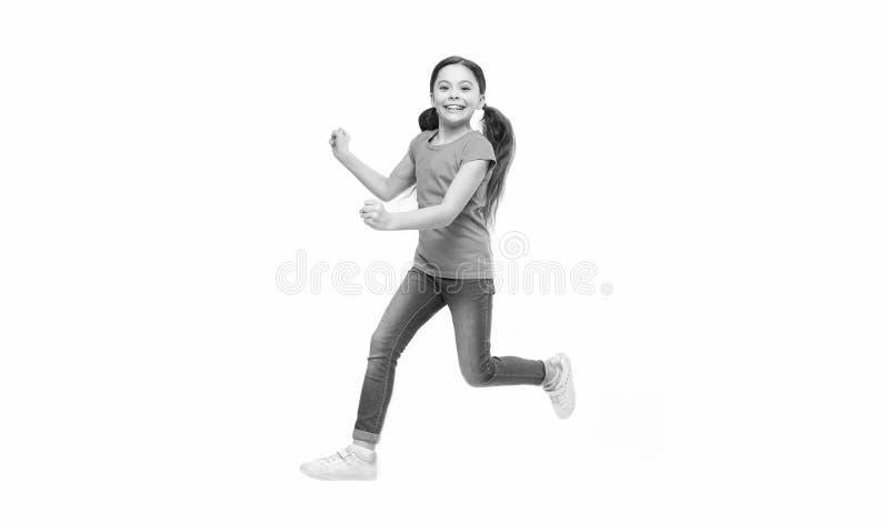 Kind gefangen genommen in der Bewegung Wie aktives Kind aufziehen Sie Frei und voll von der Energie Regeln, zum von Kindern aktiv lizenzfreie stockbilder
