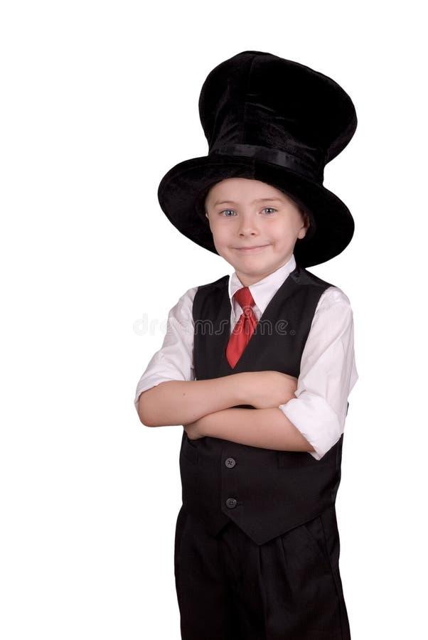 Kind-Magier lizenzfreie stockbilder