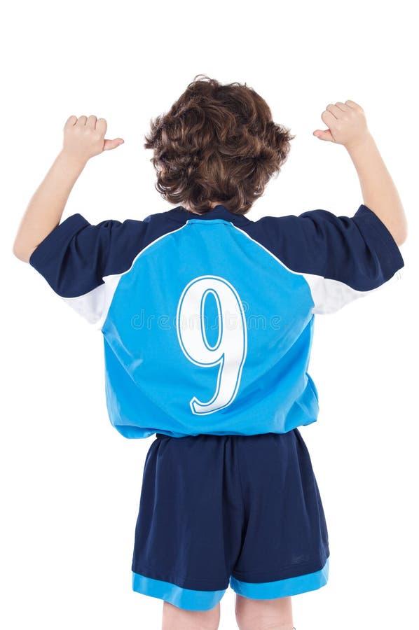 Kind mit Nr. neun lizenzfreie stockbilder