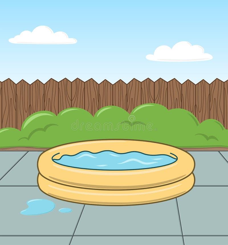 Kind-Pool stock abbildung