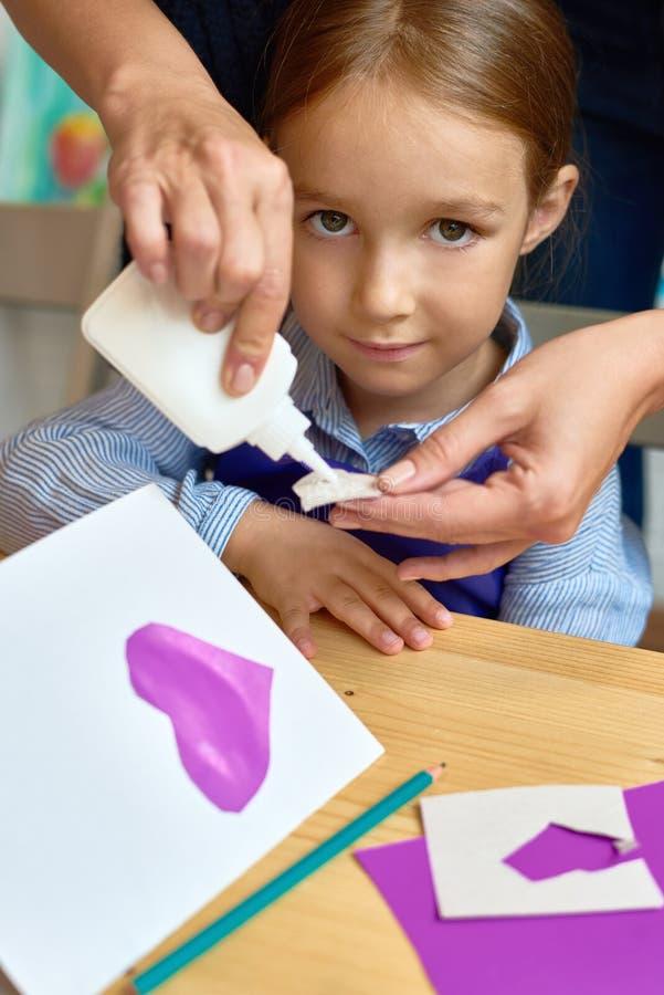 Kind in Preschoolles royalty-vrije stock fotografie