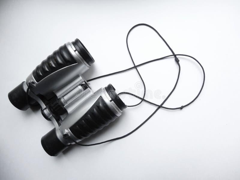 Kind-` s Ferngläser hergestellt vom Plastik lizenzfreie stockfotografie