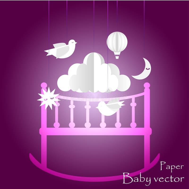 Kind-` s Mobile für Babys ENV 10 stockfotografie