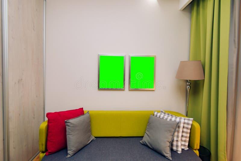 Kind-` s Raum Innenarchitekturkind-` s Raum in den apartmen stockbilder