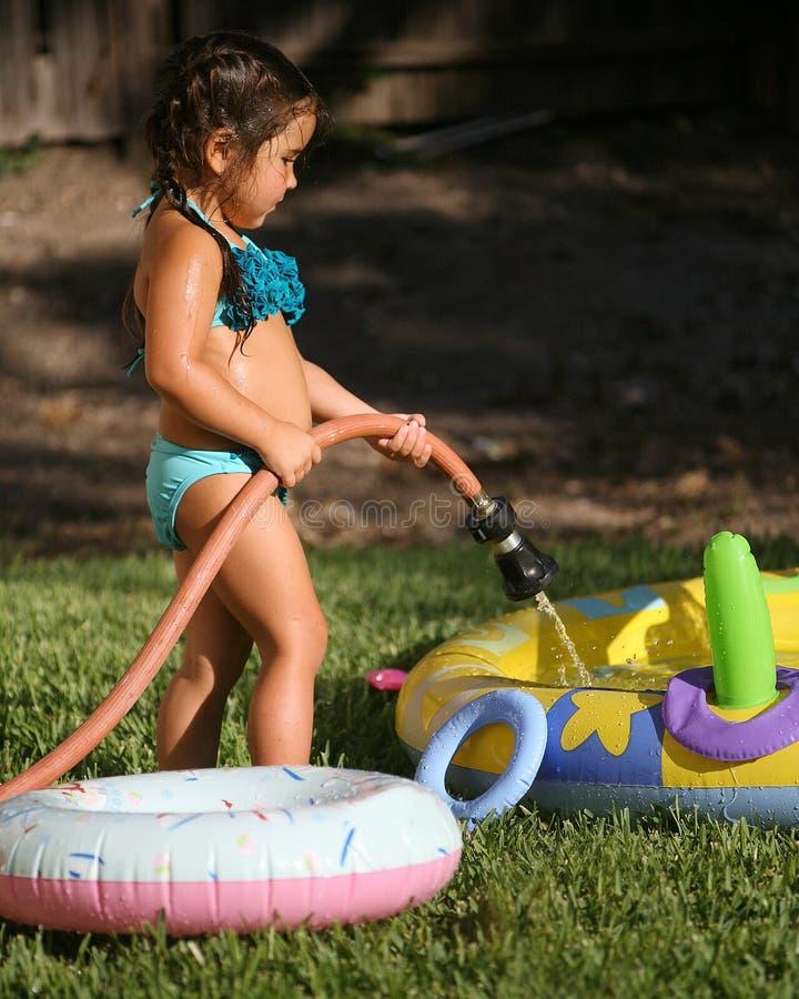 Kind-Sommer-Spaß lizenzfreies stockfoto