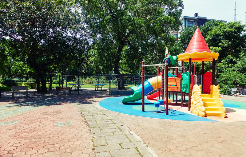 Kind-Spielplatz 2 stockfotos