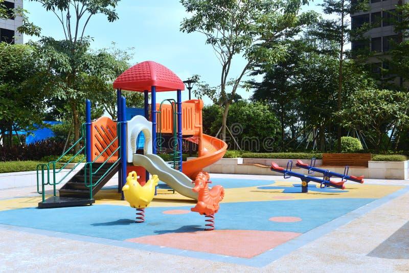 Kind-Spielplatz 2 stockfotografie