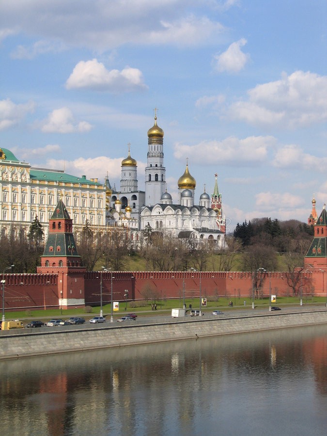Download Kind to the Moscow Kremlin stock photo. Image of color - 8838100
