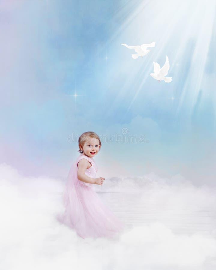 Kind van licht royalty-vrije stock afbeeldingen