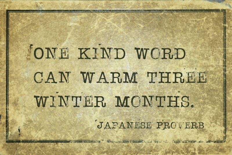 Kind word JP vector illustration