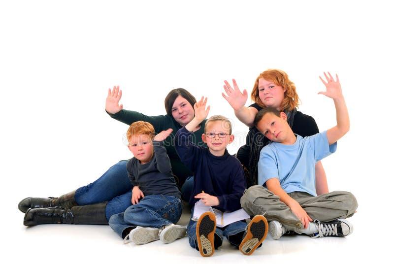 Kinder, Brüder und Schwestern stockfoto