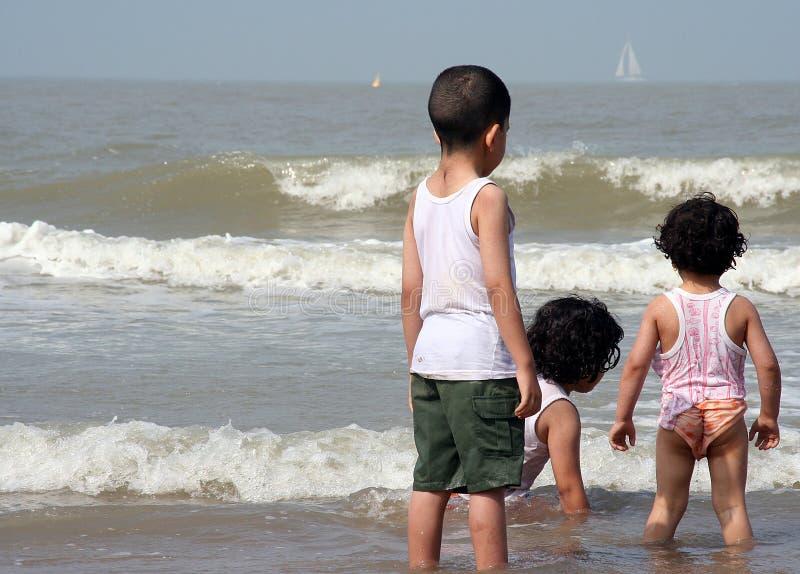 Kinder des Meeres lizenzfreies stockfoto