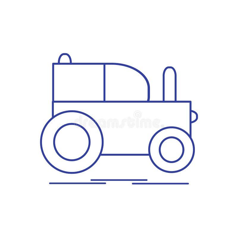 Kinder \ 's-Spielzeug: Traktor vektor abbildung