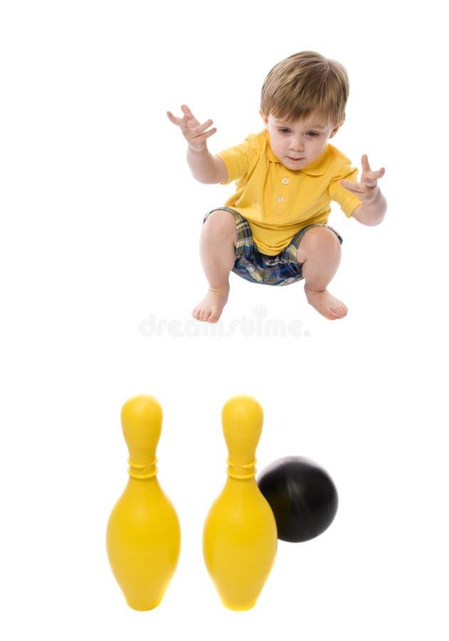 Kinder am Spiel stockfoto