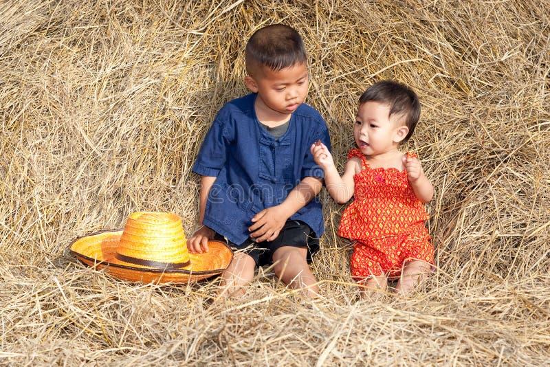 Kinder von Asien stockbild