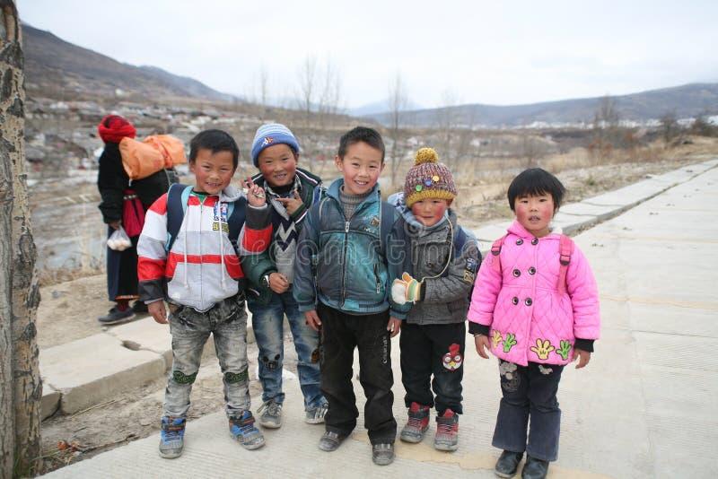 Kinder von Asien lizenzfreie stockbilder