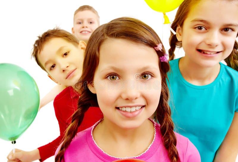 Kinderachtig festival royalty-vrije stock afbeeldingen