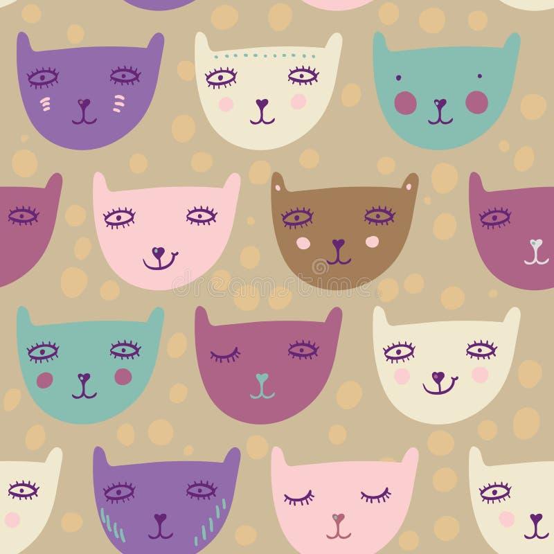 Kinderachtig patroon vector illustratie