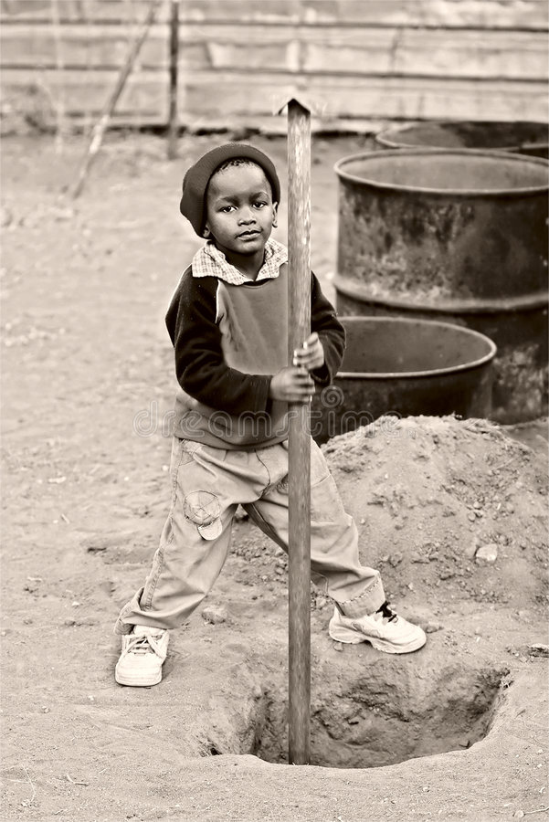 Kinderarbeit stockbilder