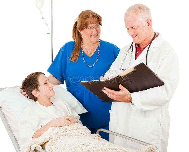 Kinderarzt wiederholt Diagramm lizenzfreies stockfoto