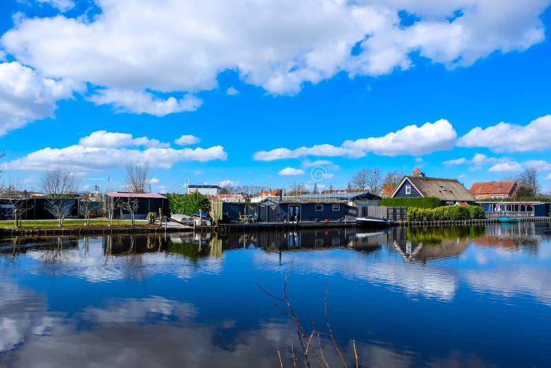 Kinderdijk - i Paesi Bassi immagini stock libere da diritti