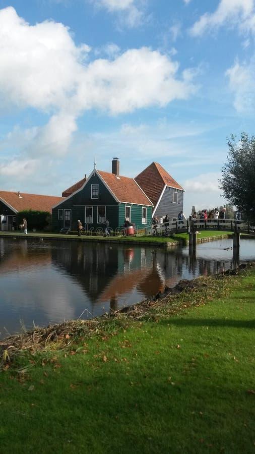 Kinderdijk - les Pays-Bas images stock