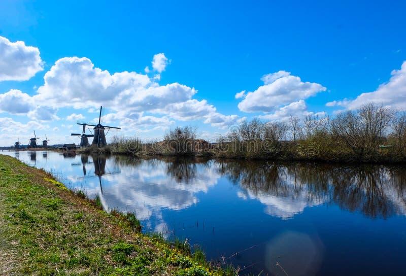 Kinderdijk - Nederland stock foto