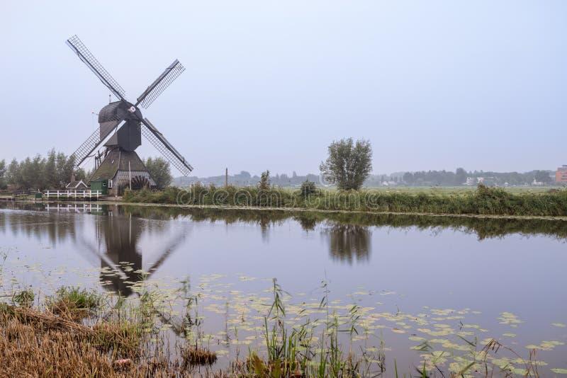 Kinderdijk in Olanda immagini stock