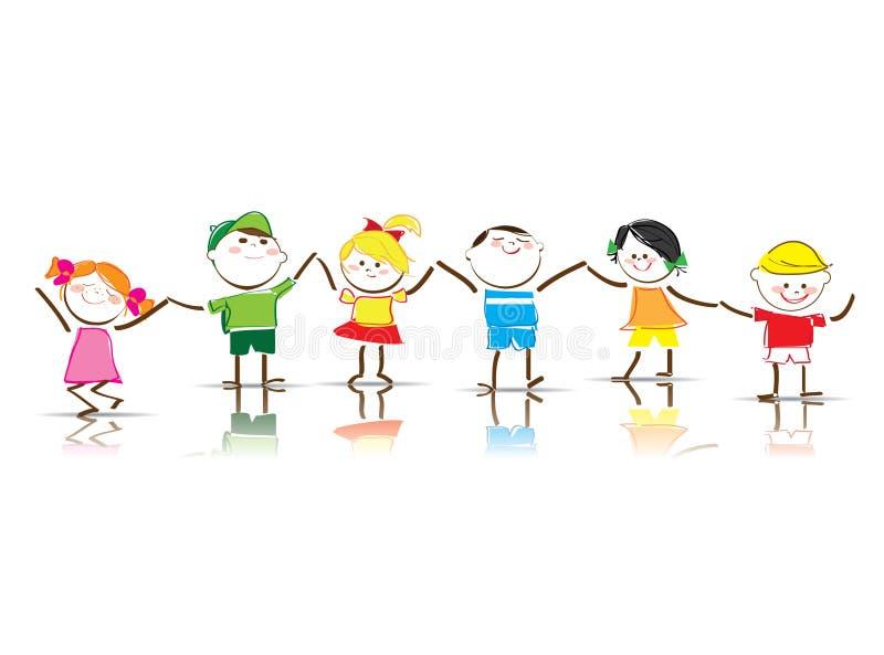 Kinderen stock illustratie