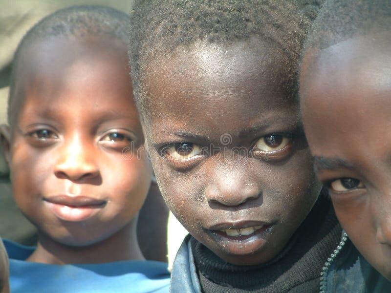 Kinderen in Burundi stock foto's