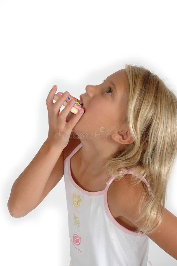 Kinderen en de Koekjes van de Suiker stock fotografie