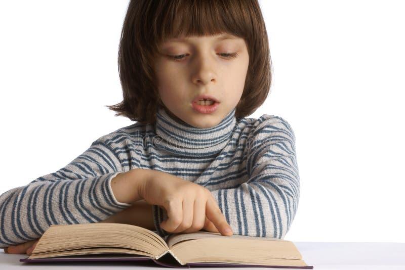 Kinderen met boeken royalty-vrije stock foto