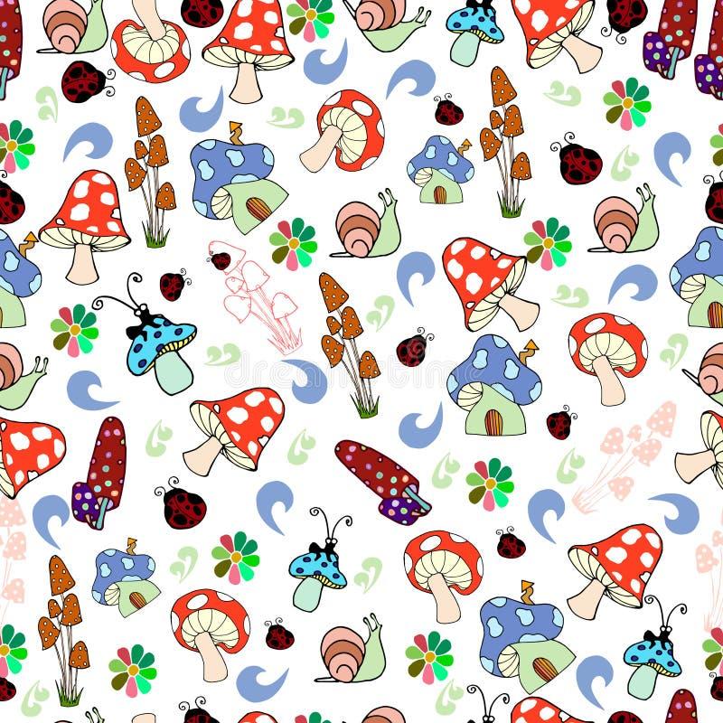 Kinderen naadloze textuur royalty-vrije stock afbeeldingen